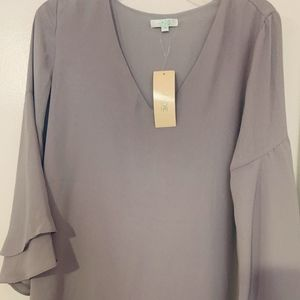 Women's Blouse Lot Umgee, JCrew, Jade Medium